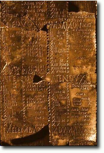 kalendář z Coligny, Francie